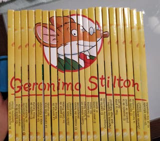colección Gerónimo Stilton sin estrenar