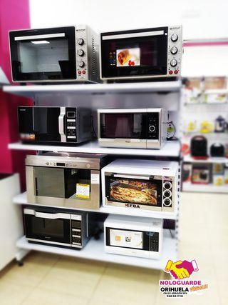 Microondas y hornos.