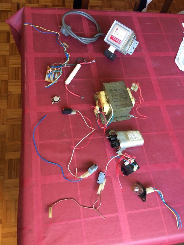 Microondas despiece