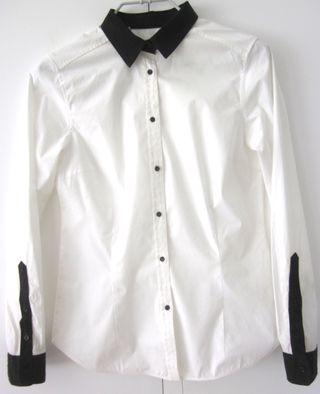 Camisa de Mujer de algodón Zara