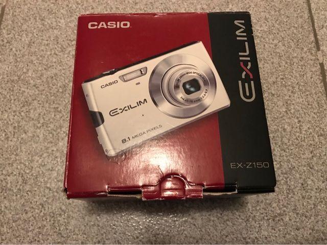 Cámara digital Casio Exilim EX-Z150