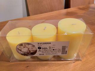 Pack 3 velas Ikea
