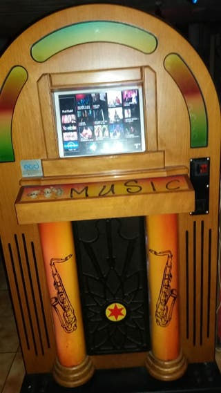 JUKEBOX Máquina música Rockola Gramola Karaoke