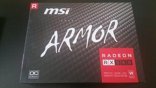 Tarjeta gráfica AMD RX 580 MSI Armor OC 8GB