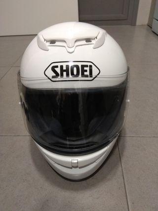 casco shoei raid II blanco