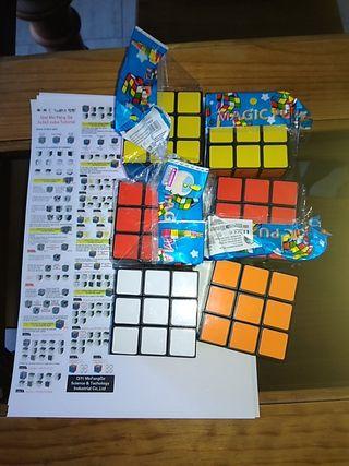 lote de 4 cubo Rubik