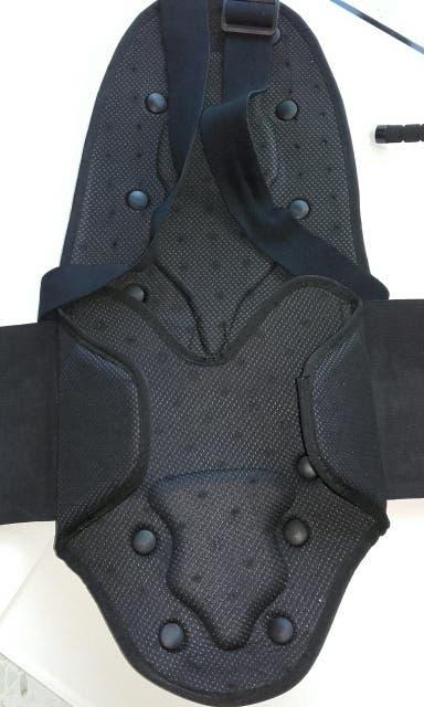Espaldera Protección Moto DUNLOP