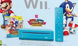 Wii mini azul