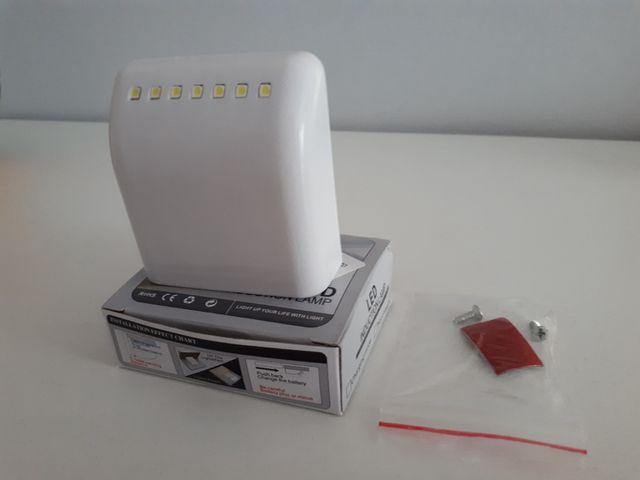 Lámpara Armario LED con Sensor de Inducción
