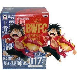 BWFC Warriors Monkey D. Luffy figura colosseum