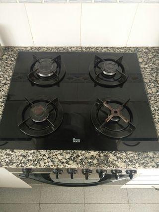 Horno + placa cocina Teka (a gas)