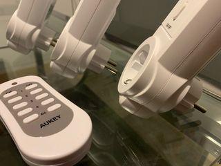Enchufes inalámbricos con mando a distancia