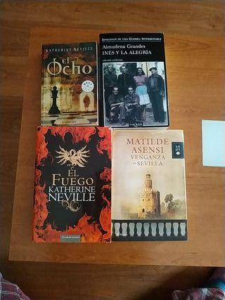 libros de varios autores