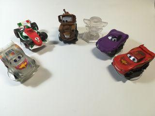 Disney infinity Cars - Lote completo 6 figuras.