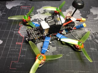 Dron Cuadricoptero Racing