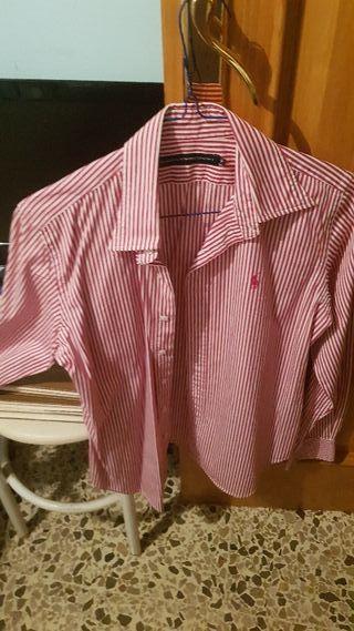 Camisa semi nueva ralph lauren. talla M