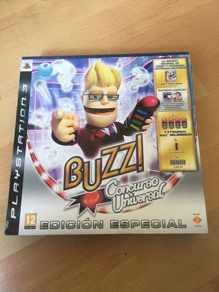 Buzz play station 3 (PS3)