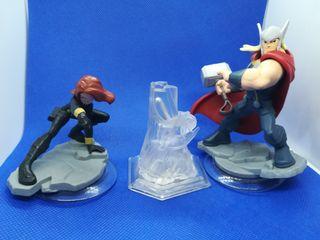 Lote Marvel figuras Disney infinity