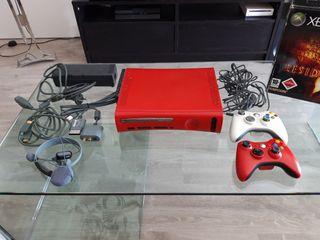 Xbox 360 Elite roja
