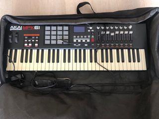 Teclados MIDI AKAI MPK61 profesional