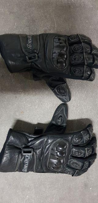 guantes moto con protecciones