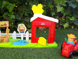 Niños-Granja Little People Fisher Price.
