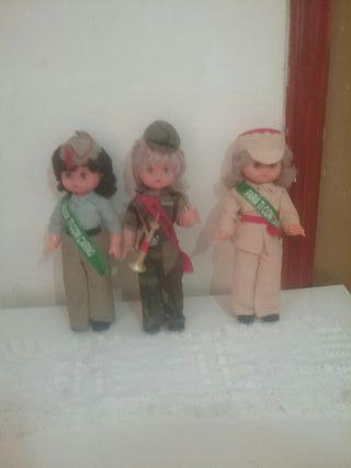 muñecas militares de los año 80