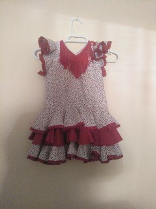 Taje de flamenca para bebe