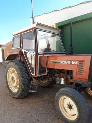 Tractor y remolque agricola