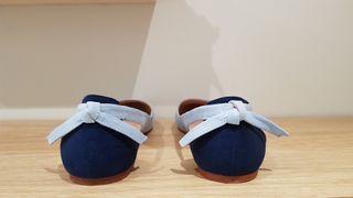Zapatos planos Zara Trafaluc. Manoletinas talla 37 de