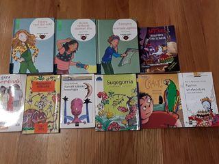 Liburuak euskaraz. Libros en euskera.
