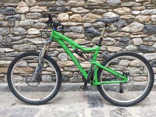 Bici doble suspension Santa Cruz