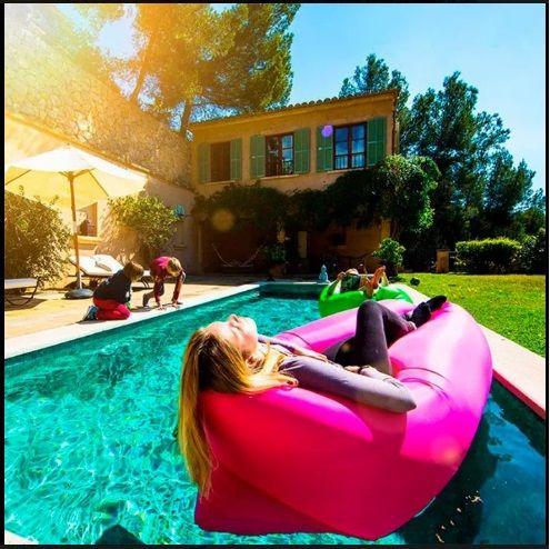 Air sofa LAMZAK colchoneta de siesta hinchable