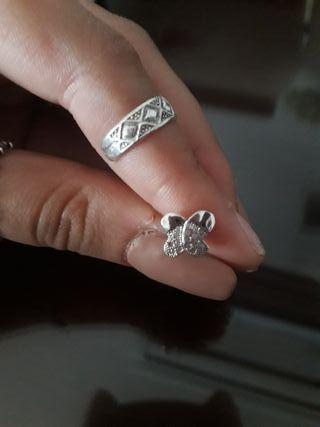 Piercing plata.