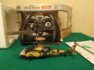 Helicoptero black hawk teledirigido