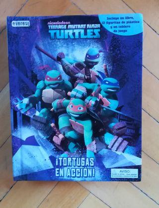 Libro - juego de las Tortugas Ninja