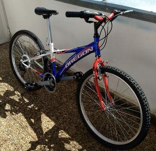 """Bicicleta infantil/cadete BH OREGON Oversized 24"""""""