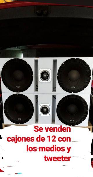 cajones 12 kipus car audio