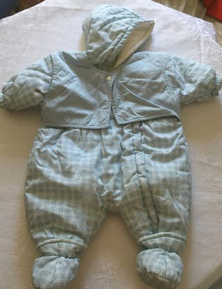 Buzo diseño retro para bebé TALLA 3-6M