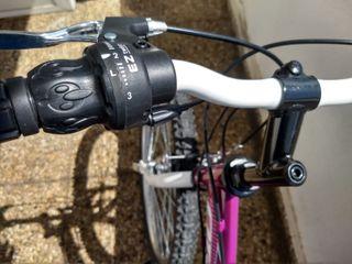 "Bicicleta infantil/cadete BH OREGON Pinky 24"""