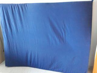 Colchón espuma 1,50 x 1,90 con funda lavable