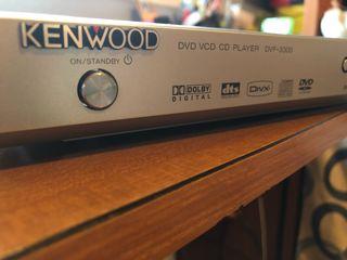 Reproductor de DVD y CD KENWOOD