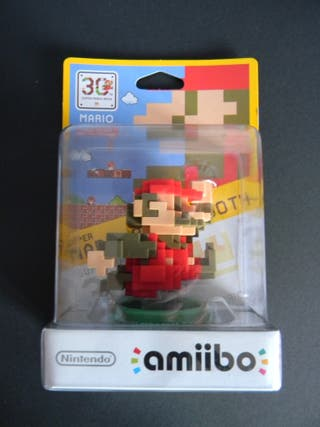 Nintendo Amiibo Super Mario Classic 30 Aniversario