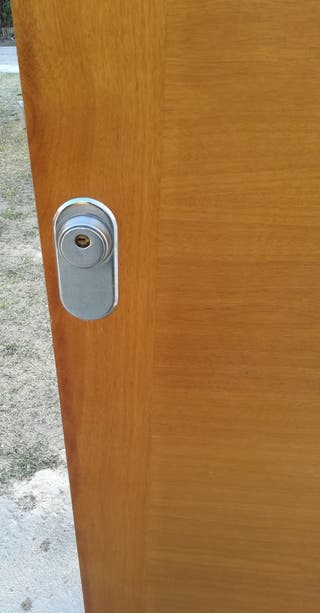 Puerta blidada