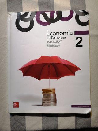 Libro economía 2do Bachillerato