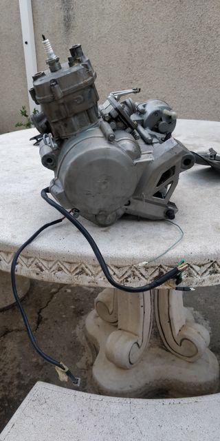 Despiece motor Derbi senda drd pro