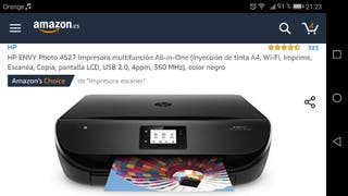 impresora fhotos HP envy 4527