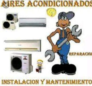 instalador y reparación de aire acondicionado