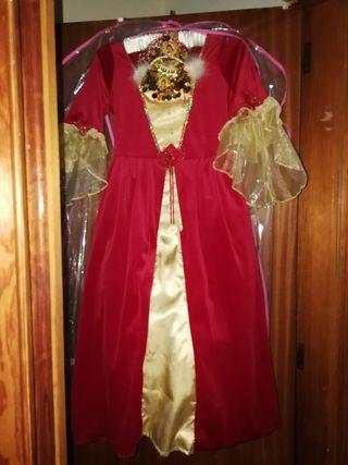 Disfraz de carnaval d niña