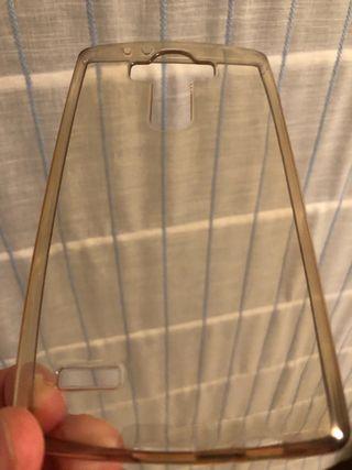 Funda transparente de silicona LG G4